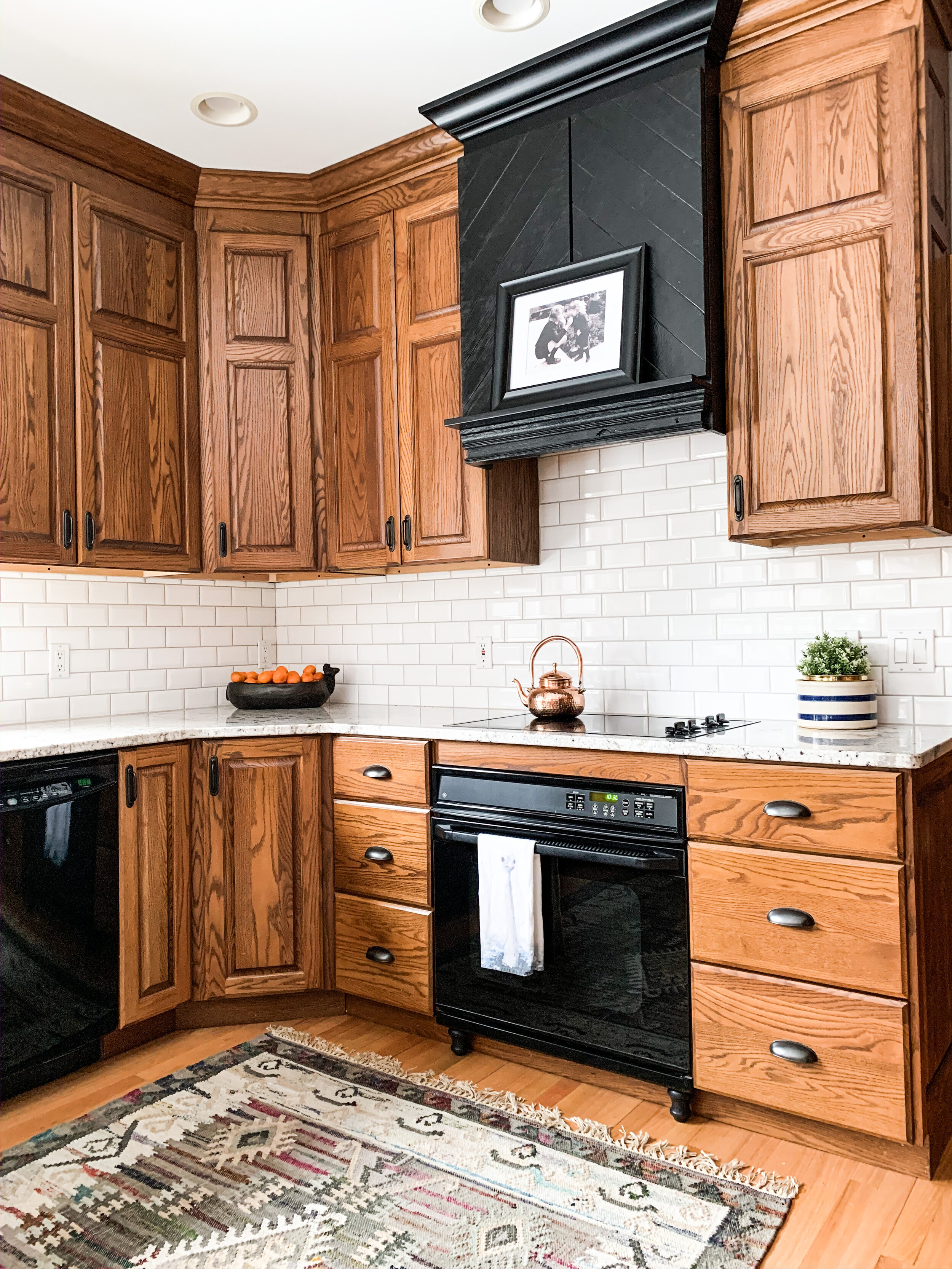 How To Make An Oak Kitchen Cool Again Copper Corners