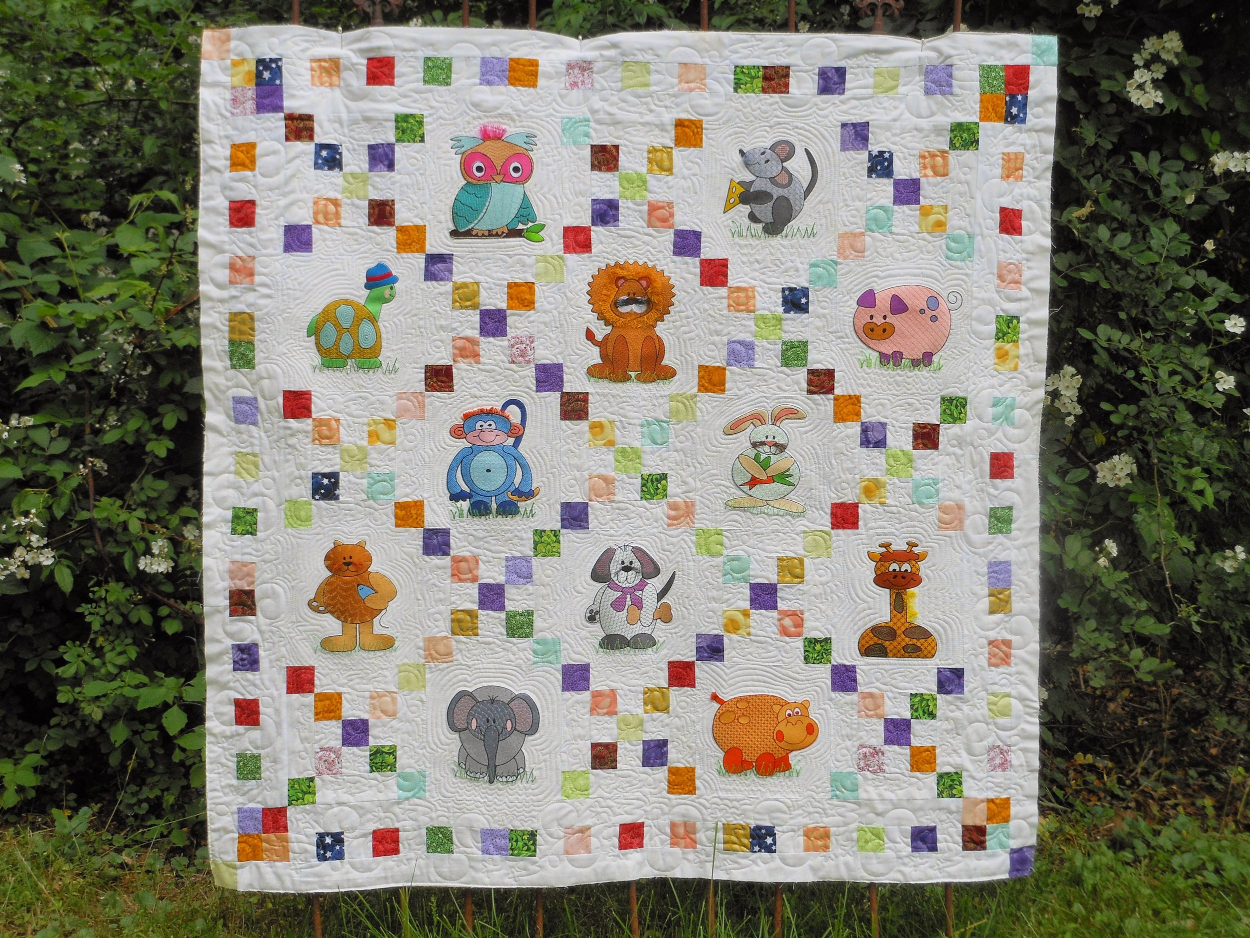 Baby Quilts.com Silver Forest Quilts