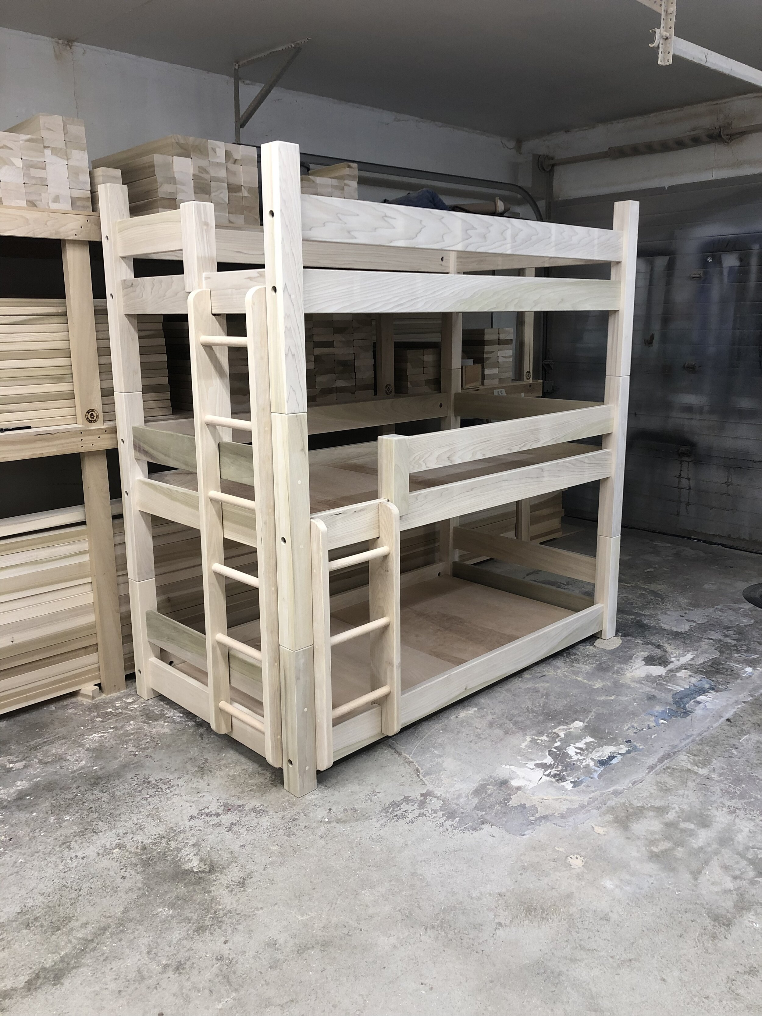 Unfinished Bunks Lofts
