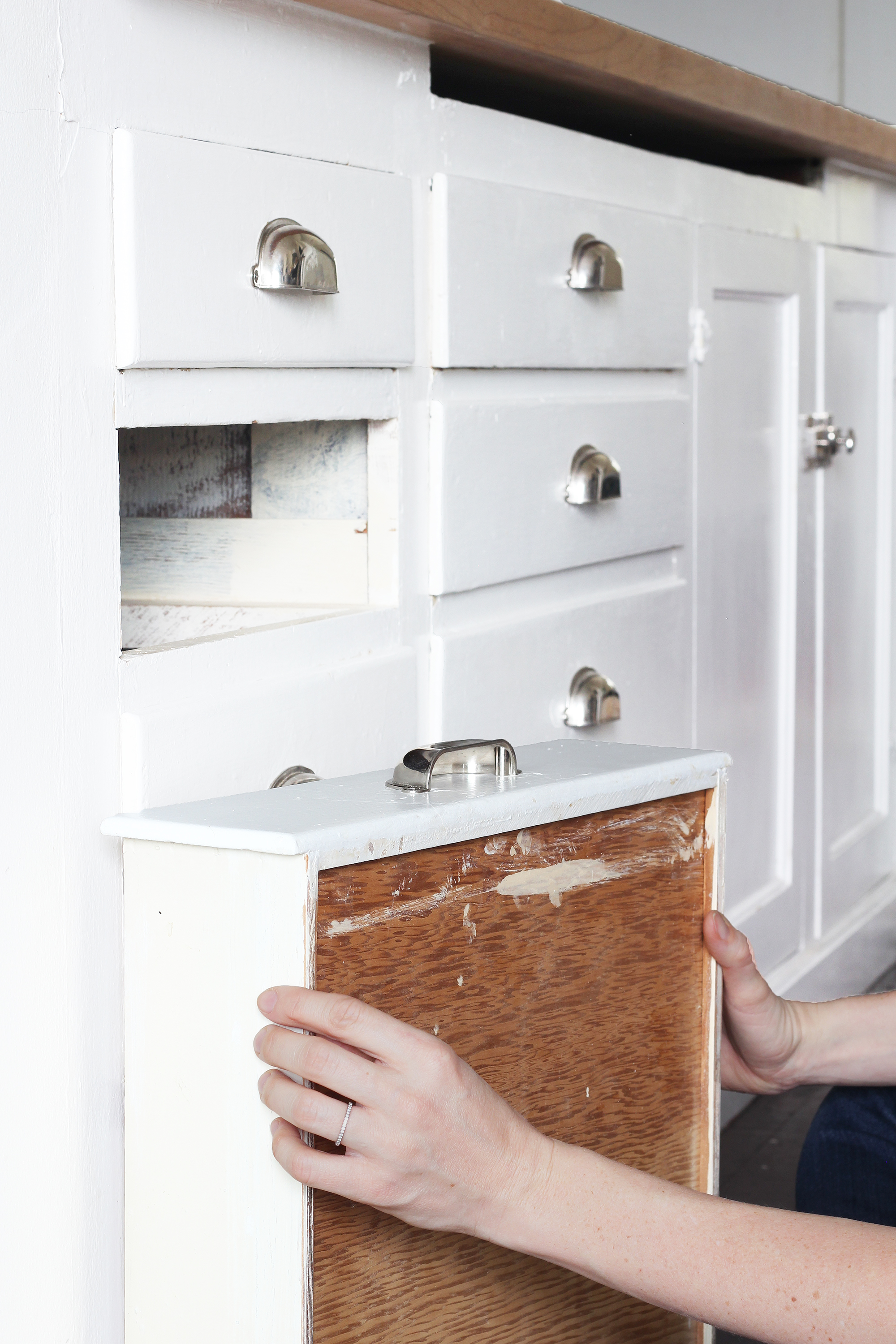 Diy How To Make Old Wood Drawers Slide Easier The Grit And Polish