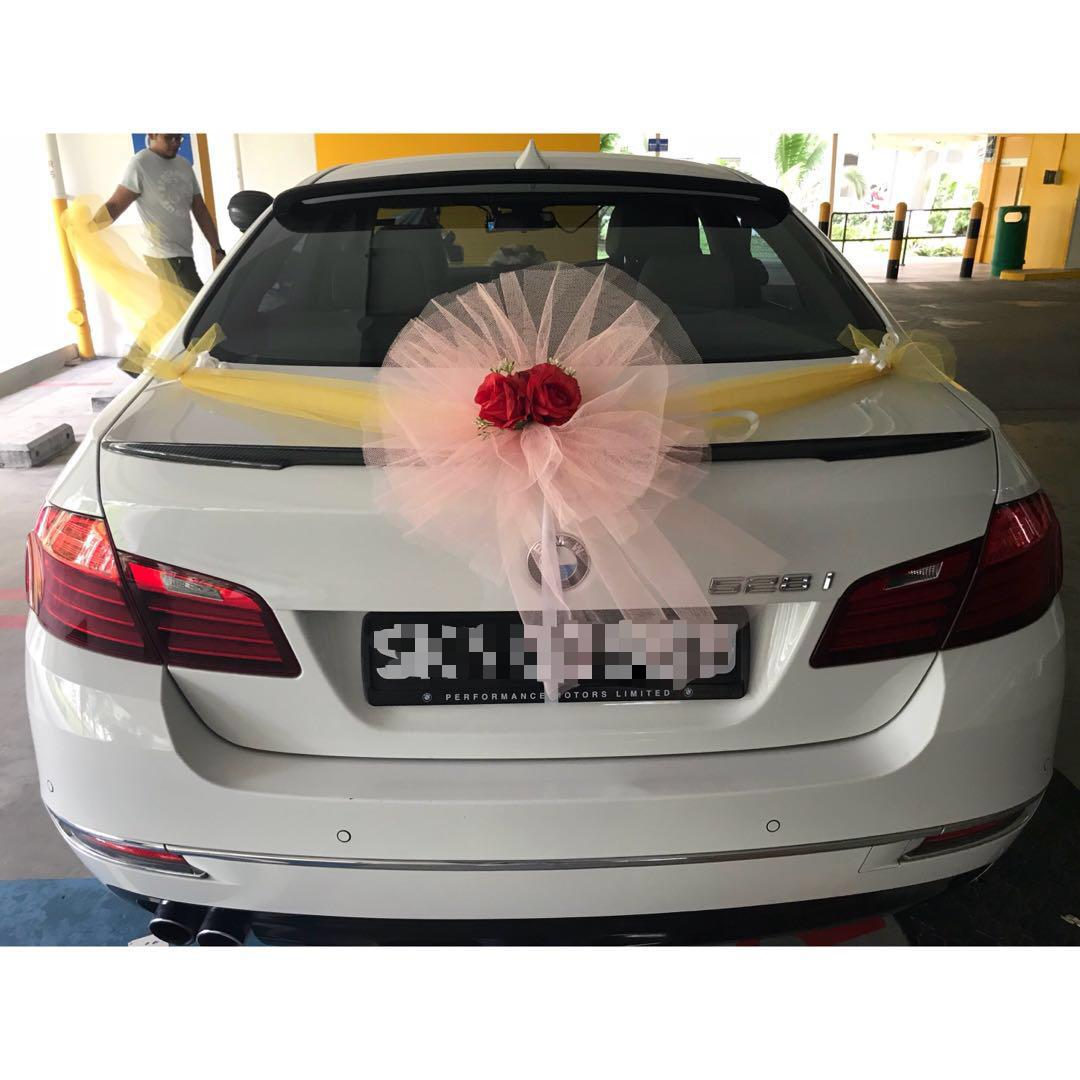 Car Decoration Weding 6 Singapore Wedding Car Decoration Ideas Sg Hired Cars Luxury