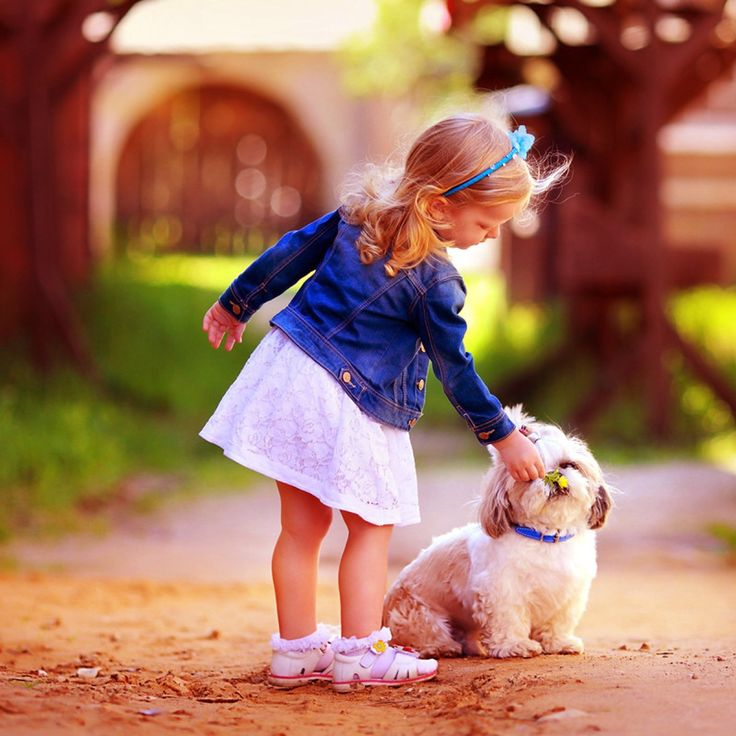 Cute Baby Attitude Wallpaper Girl With Dog Profile Pictures Girl With Dog Profile
