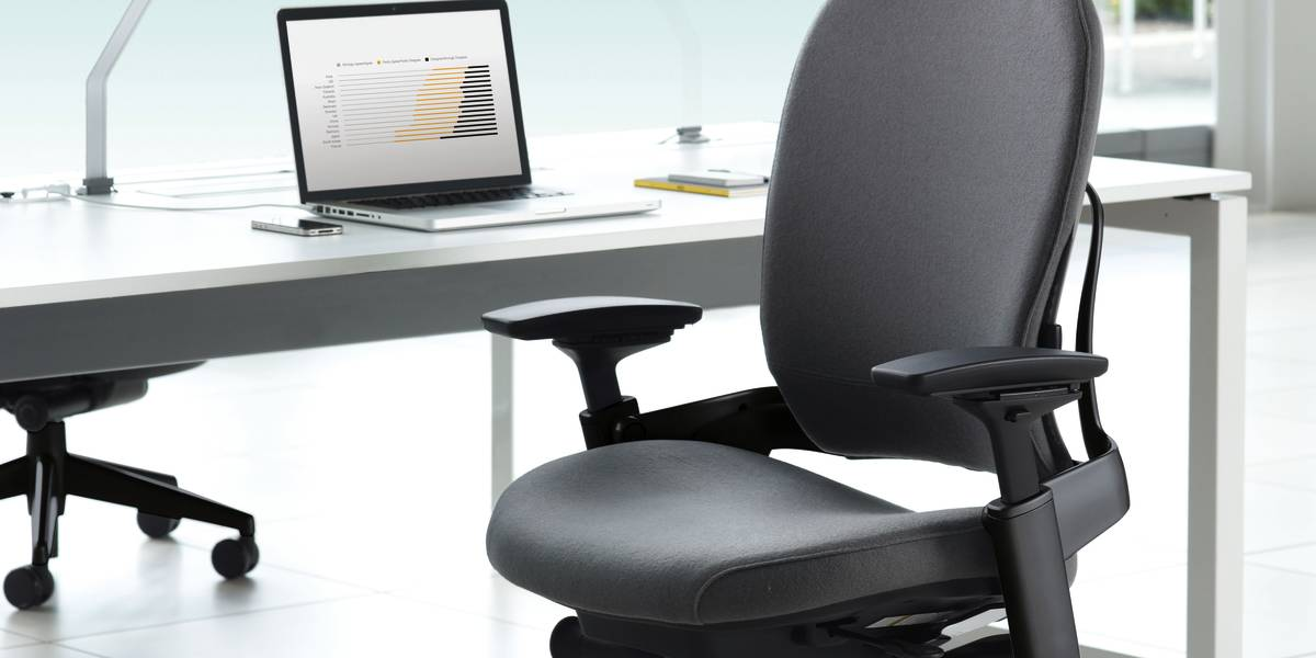 Leap Ergonomic Adjustable Office Chairs Steelcase