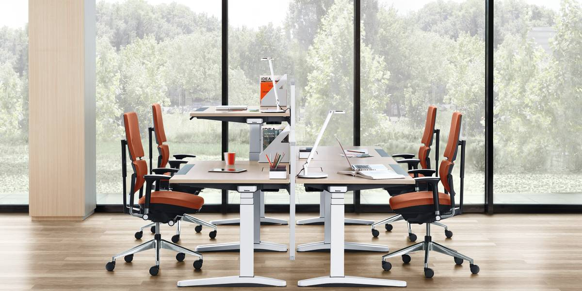 Please Comfortable Task Desk Chairs Steelcase