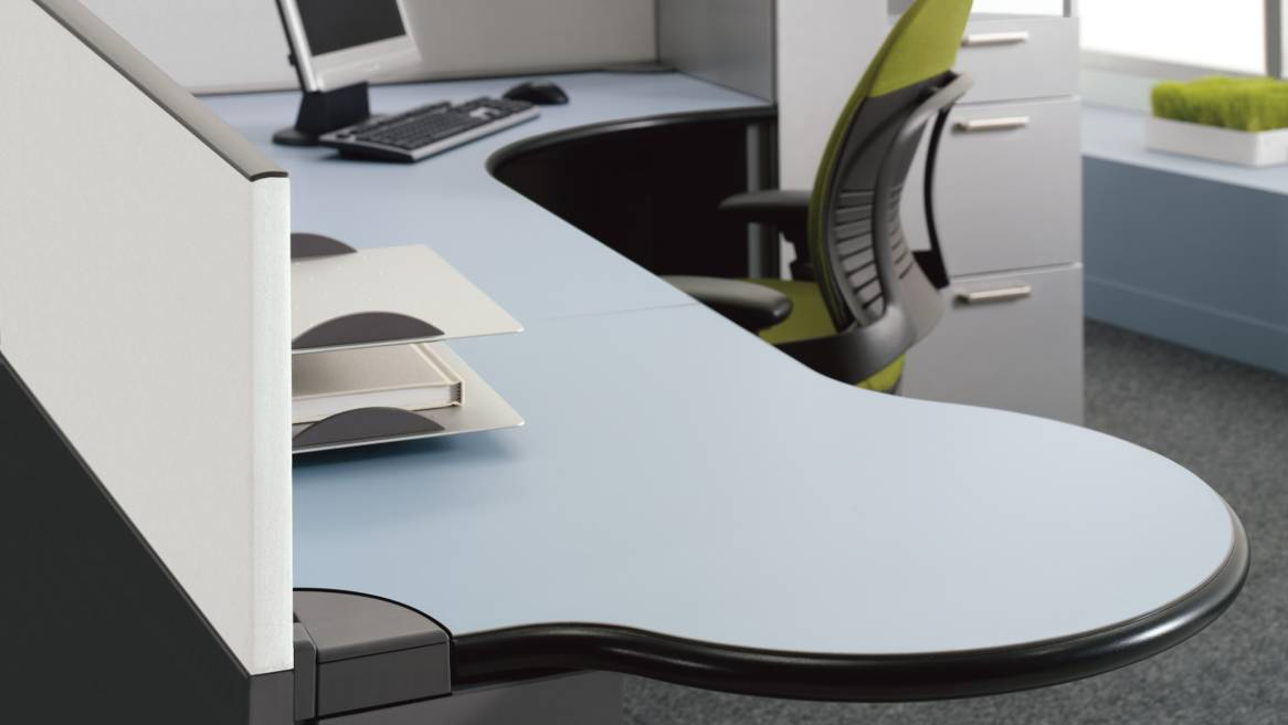 Context Collaborative Office Desk Systems - Steelcase