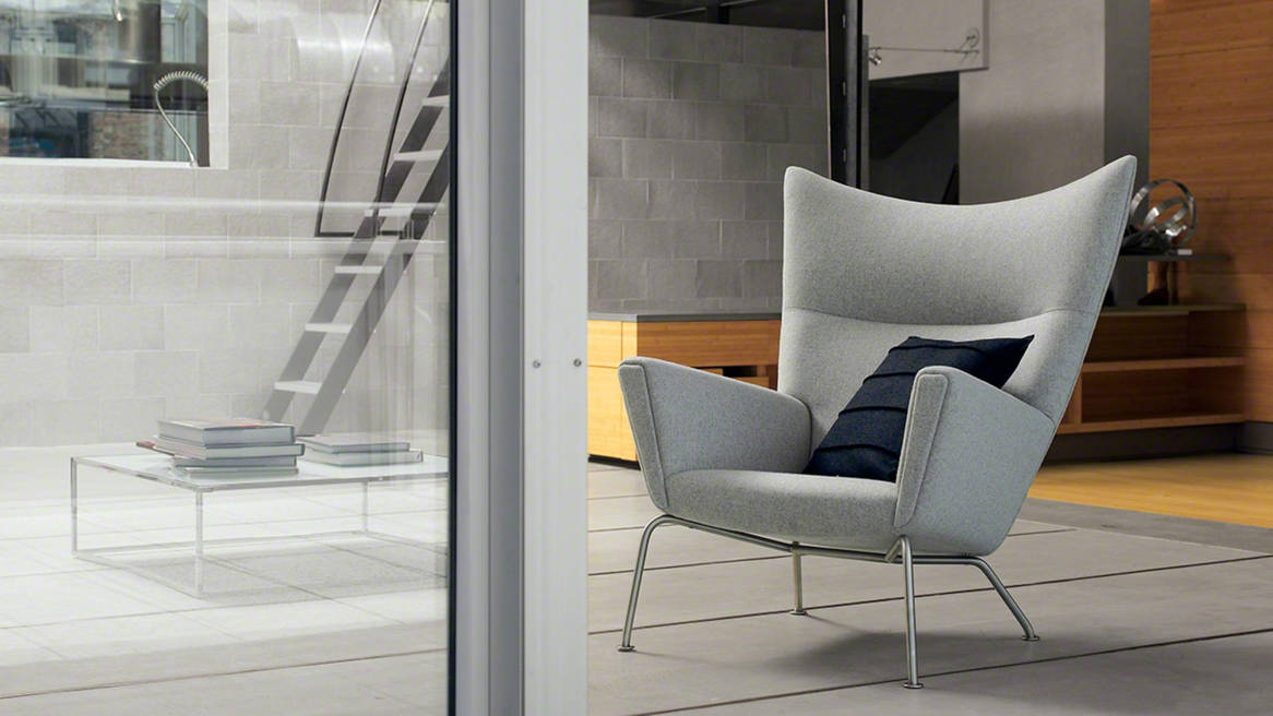 Coalesse Contemporary Ch445 Wing Chair Steelcase