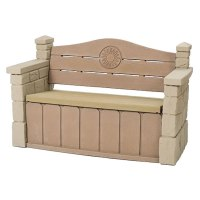 Outdoor Storage Bench | Outdoor Furniture | by Step2