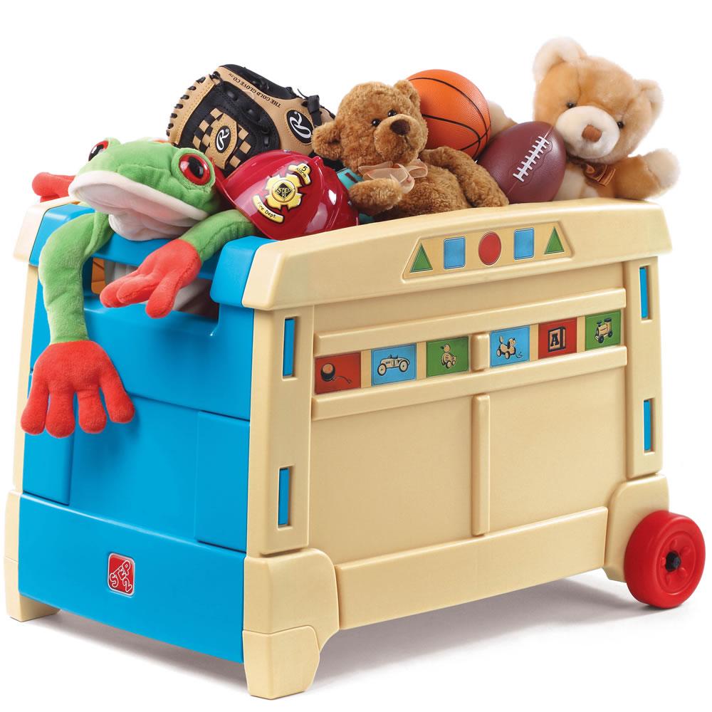 Lift Roll Toy Box Kids Toy Box Step2