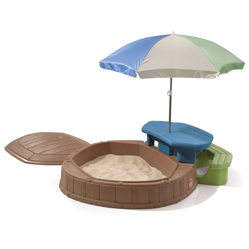 Big W Sand Pit Naturally Playful Summertime Play Center