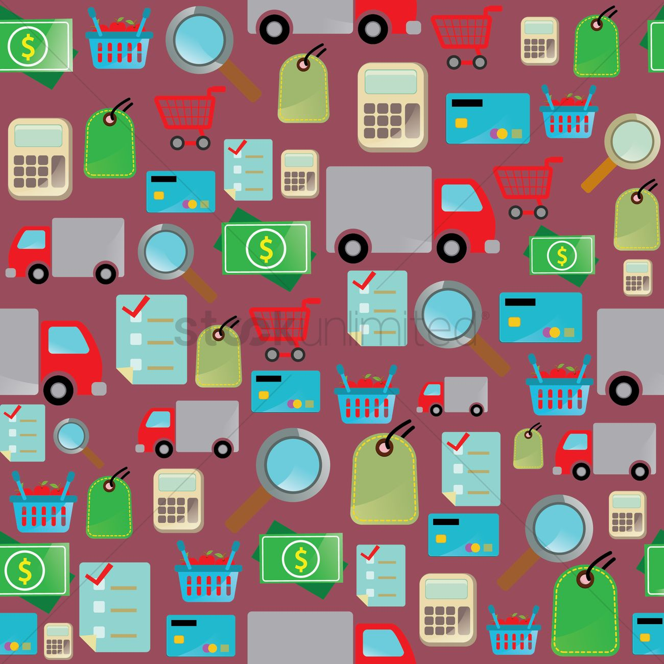 Online Picture Online Shopping Theme Background Vector Image 1287527