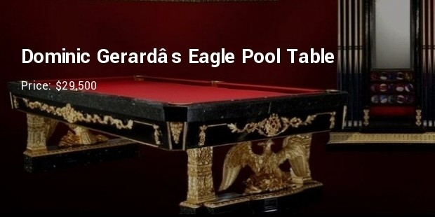 Dominic Gerards Eagle Pool Table