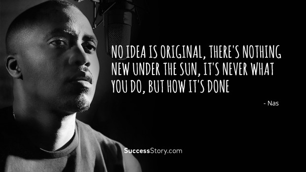 Inspirational Quotes Wallpaper Rapper No Idea Is Original