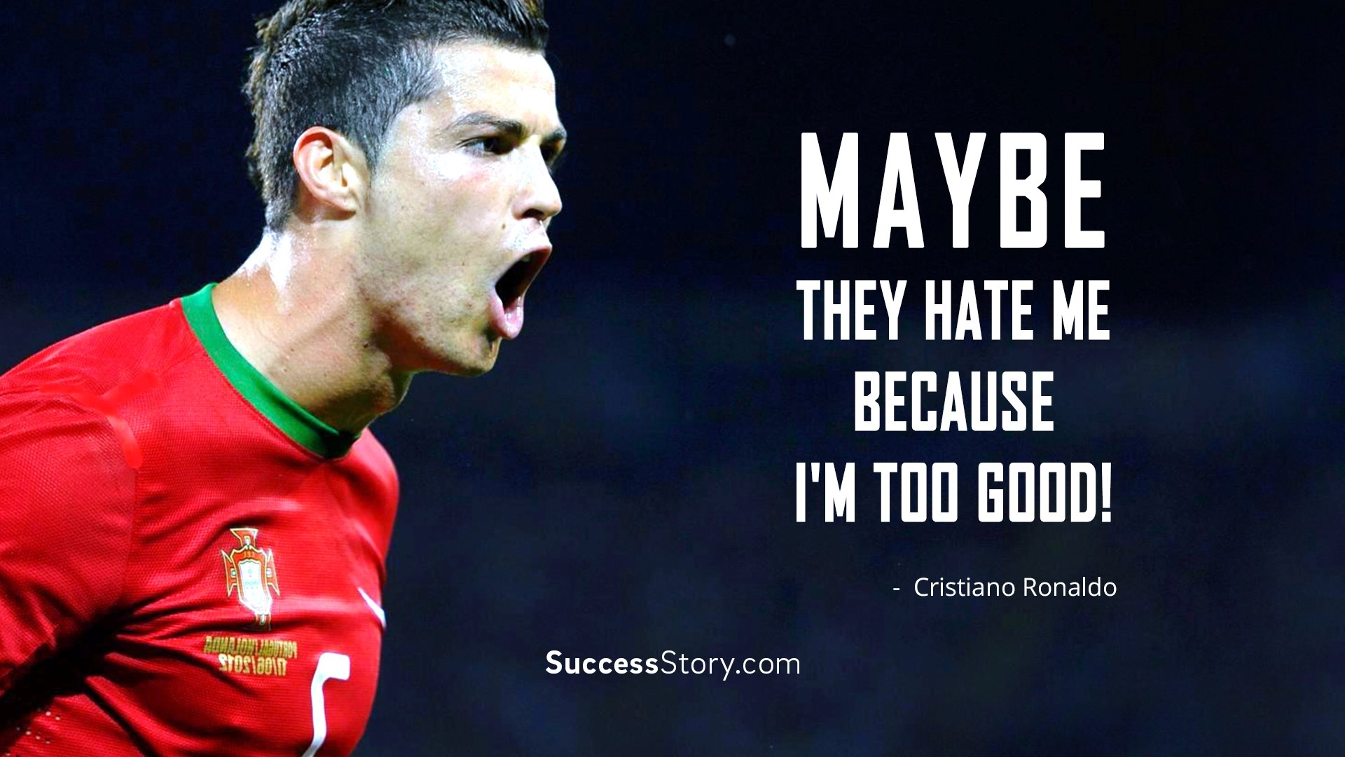 Ronaldinho Quotes Wallpaper Cristiano Ronaldo Quotes Famous Quotes Successstory