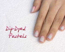 Nail Art Tutorials Dip Dyed Pastels Candy