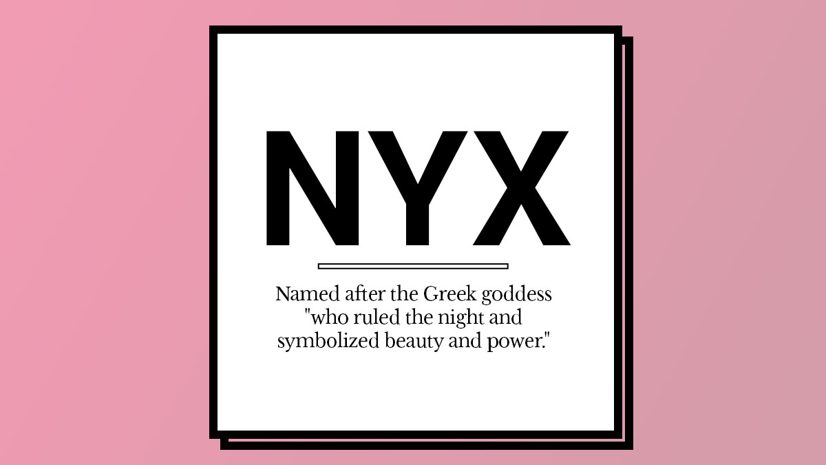 / Name The Story Behind Beauty Brands Names