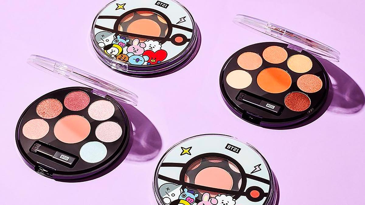 Bts X Vt Cosmetics Makeup Collection Available Online In