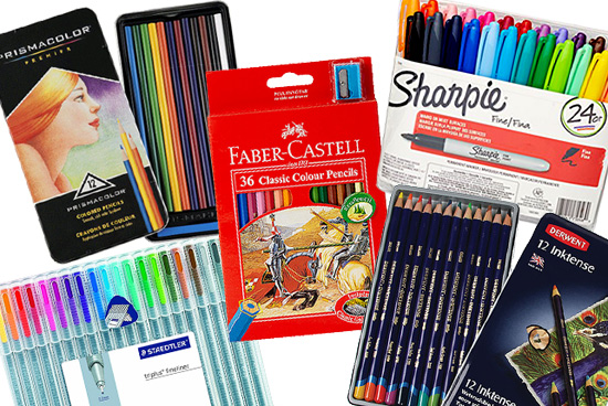 10 Pens, Pencils, And Markers You Can Use For Coloring SPOTph