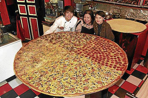 Round Up Where To Get Giant Pizzas In Manila Spotph