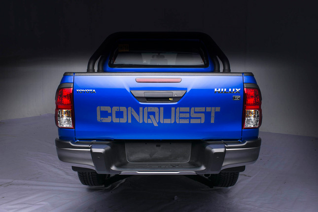 The Toyota Hilux Conquest has officially been launched