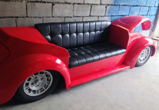 Car Möbel New Filipino Company Specializing In Furniture Made From Cars