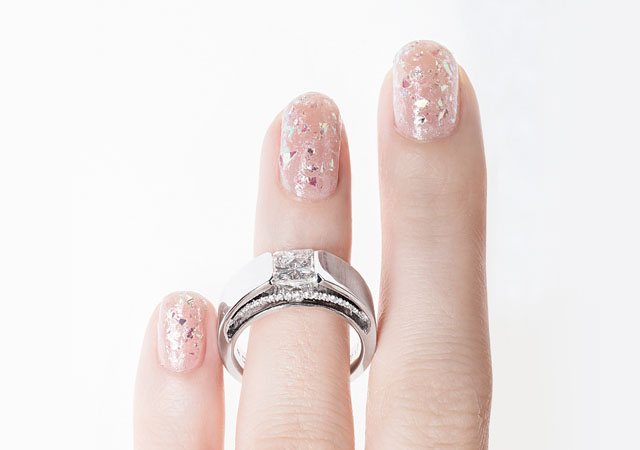 6 Manicure And Engagement Ring Combinations For Your