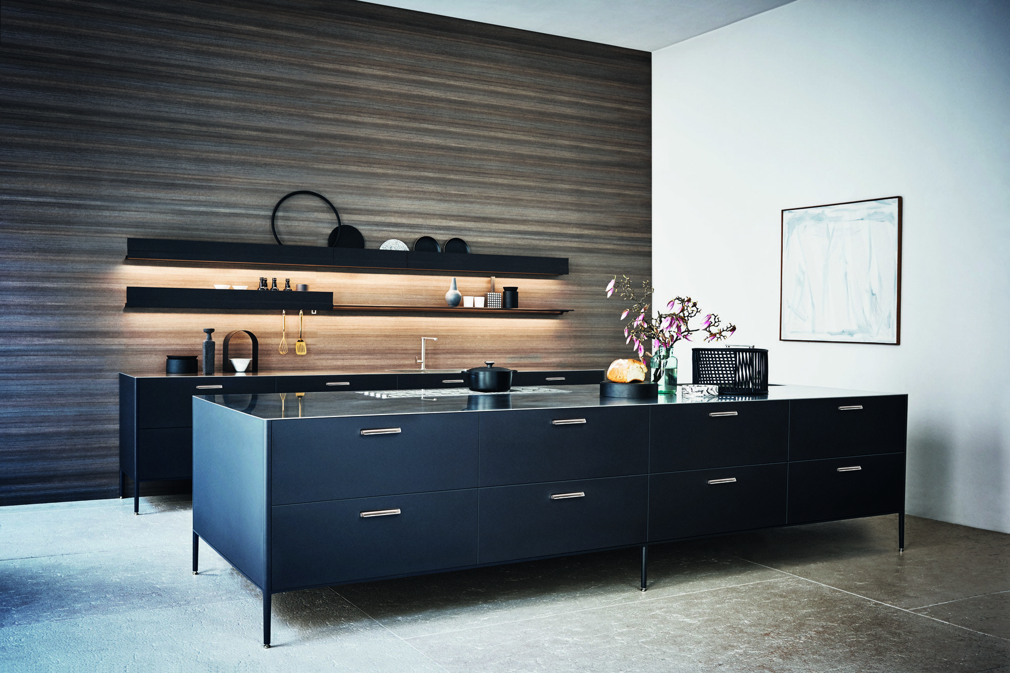 Porcelanosa Kitchen Cabinets Kitchen Inspiration For The Home Entertainer Surface