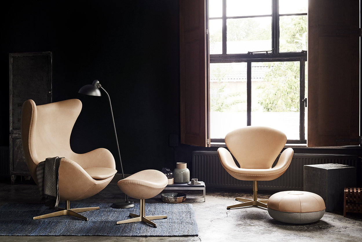 Arne Jacobsen How Arne Jacobsen S Egg Swan And Drop Chairs Got Their Curves