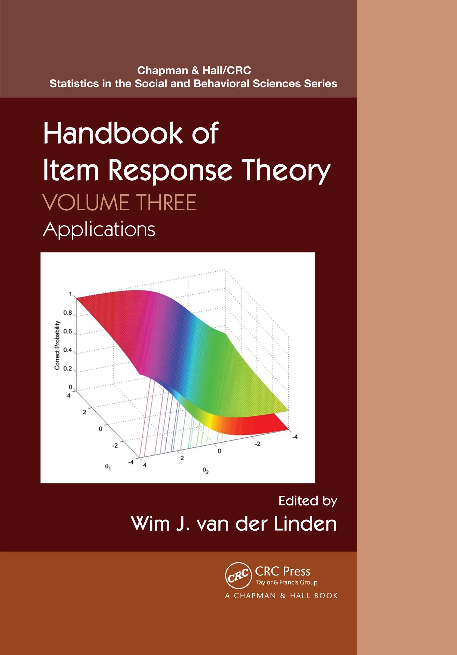 Handbook of Item Response Theory, Volume Three_PBD Applications
