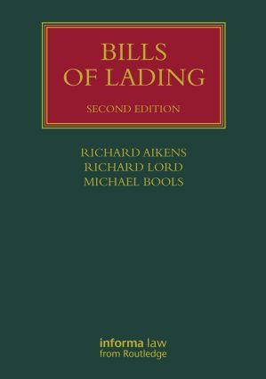Bills of Lading 2nd Edition (Hardback) - Routledge