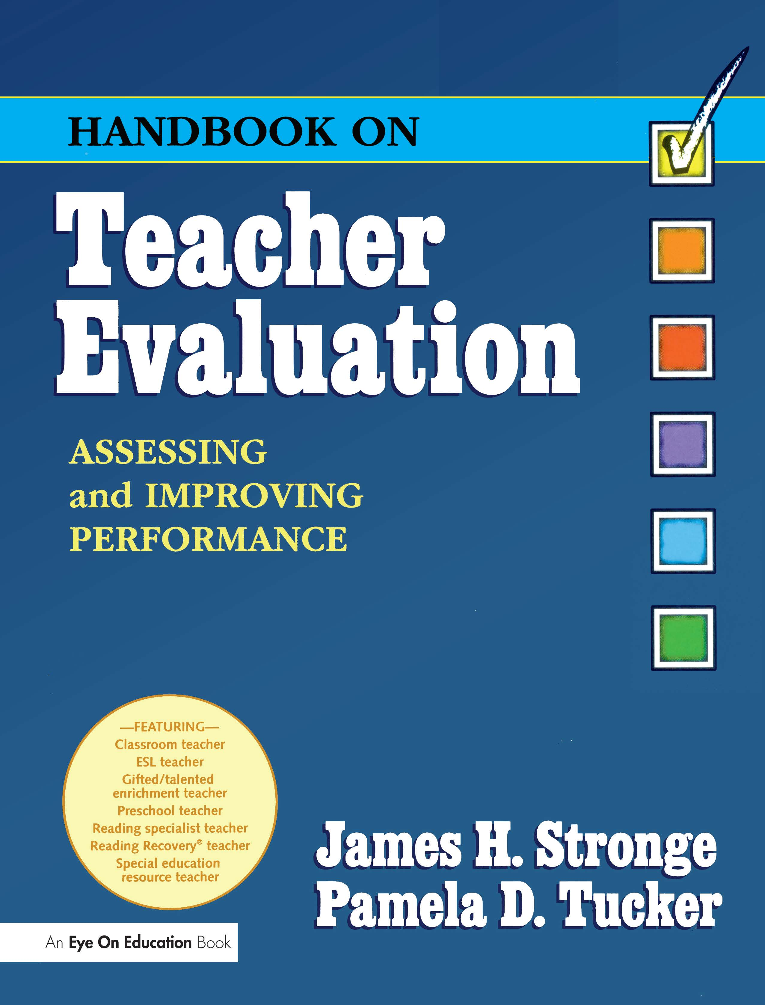 Handbook on Teacher Evaluation with CD-ROM 1st Edition (Paperback