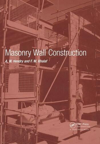 Masonry Wall Construction - CRC Press Book
