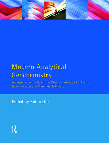 Modern Analytical Geochemistry An Introduction to Quantitative