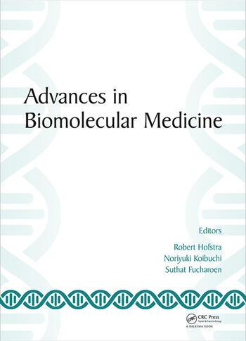 Advances in Biomolecular Medicine Proceedings of the 4th BIBMC