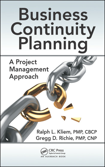 Business Continuity Planning A Project Management Approach - CRC - business continuity plan