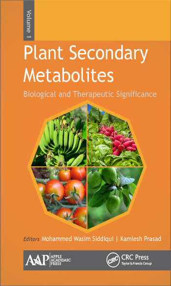 Plant Secondary Metabolites, Volume One Biological and Therapeutic