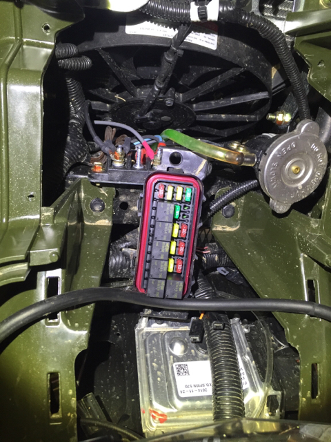 Help! LED Light Bar Install - Polaris ATV Forum