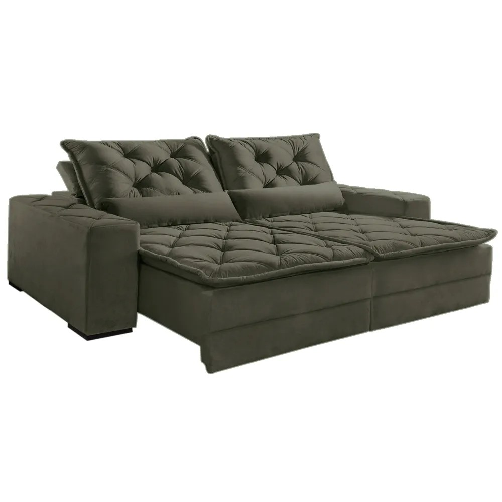 Sofa Retratil Uba Mg Sofá Dallas 4 Lugares