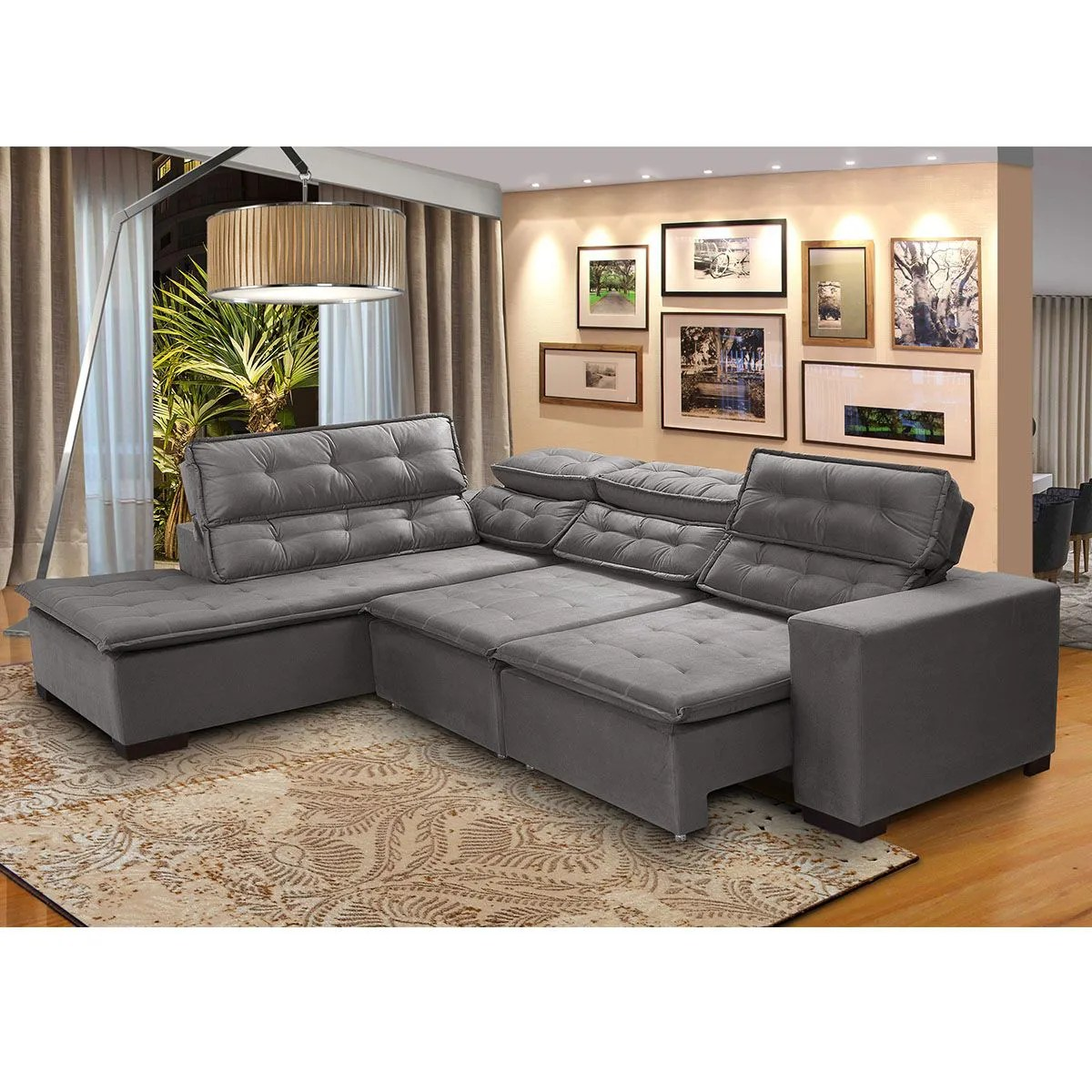 Sofa Retratil E Reclinavel Submarino Sofa De Canto Retratil Baci Living Room