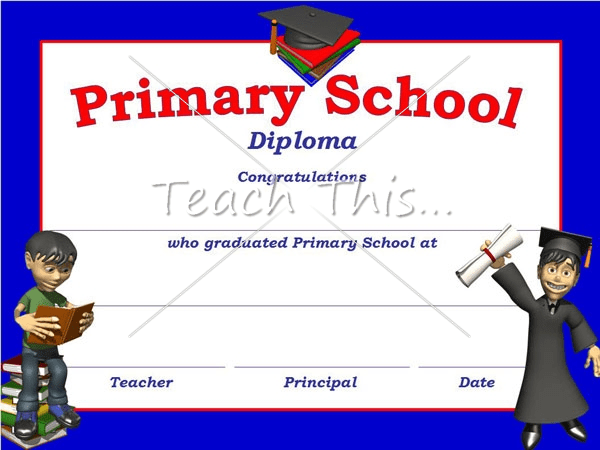 printable high school diplomas
