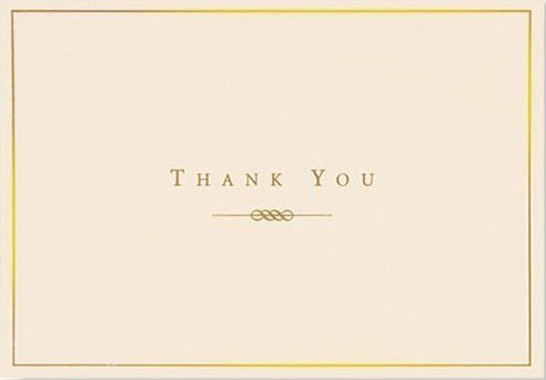 thank you card professional - Onwebioinnovate