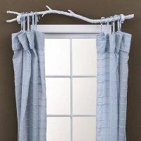 DIY: Tree Branch Curtain Rod | POPSUGAR Home