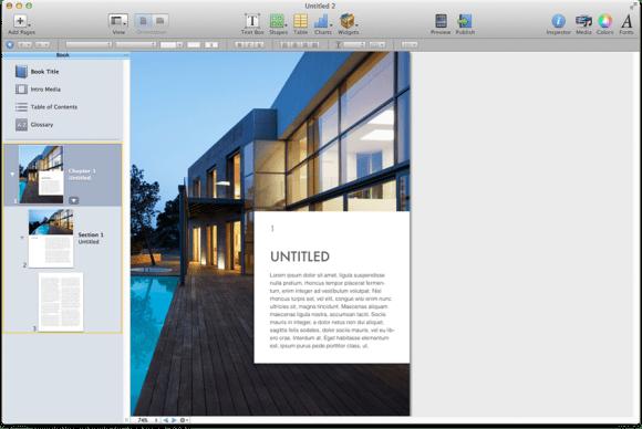 Apple reveals updated iBooks Author with portrait-orientation