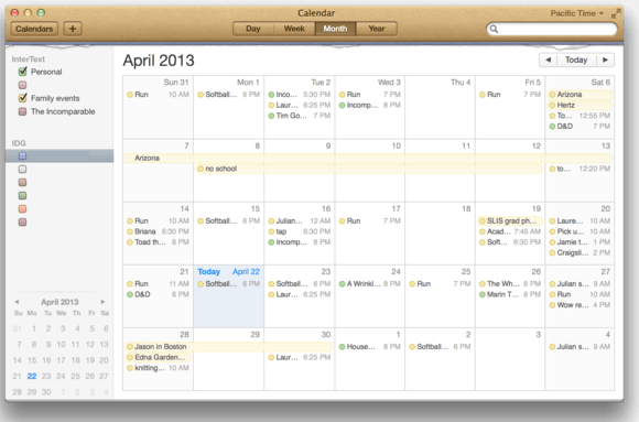 Why aren\u0027t digital calendars smarter? Macworld - calender s