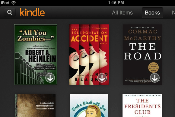 Review Kindle for iOS remains a compelling iBooks alternative