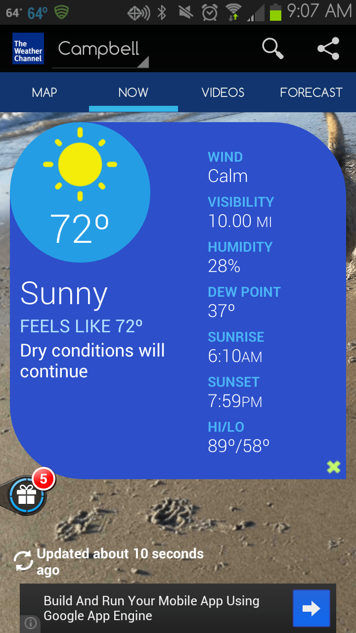 weather channel app pc