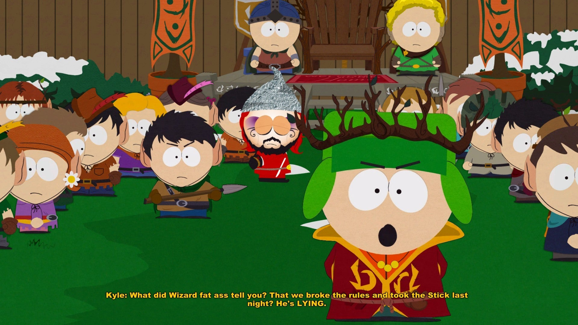 War Quote Wallpaper Hd South Park The Stick Of Truth Review A True South Park