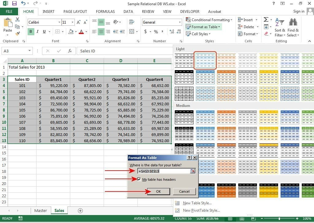 How to create relational databases in Excel 2013 PCWorld - how to create a report