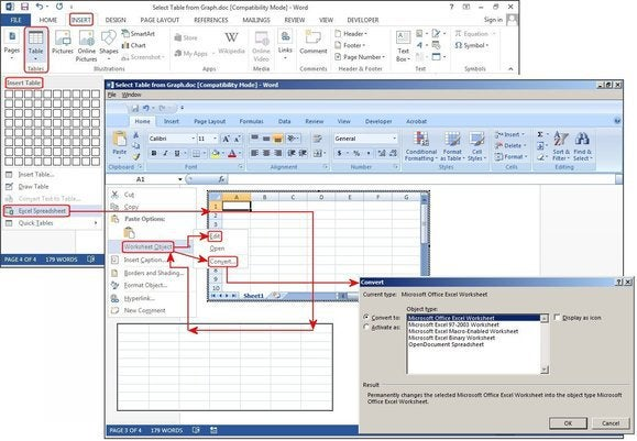 How To Create Tables In Microsoft Word Pcworld