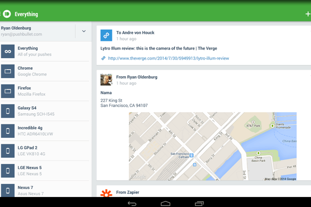 PushBullet adds universal copy and paste across Windows, Android