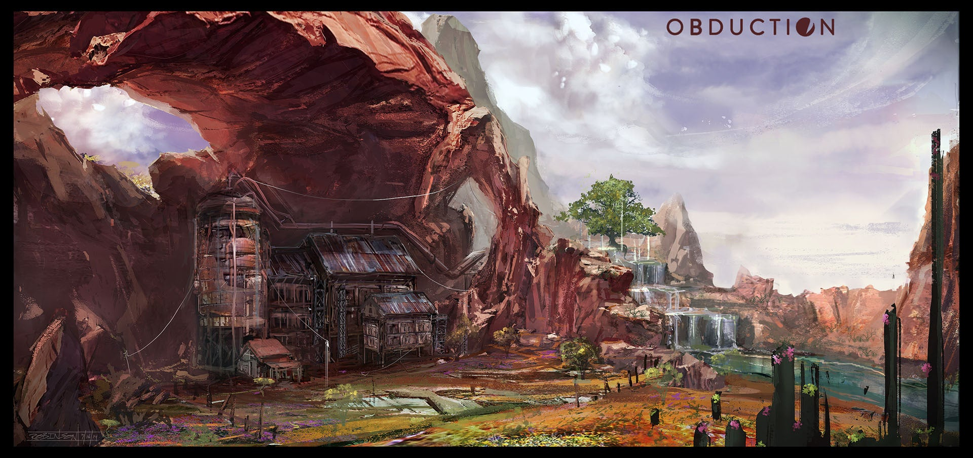 Pc Game 3d Wallpaper Exclusive Preview This Is Obduction Cyan S Spiritual
